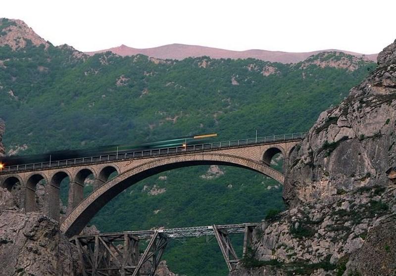 پل ورسک، شاهکاری در راه آهن سراسری