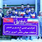 تیم کشتی آزاد مجتمع پارس اندیش خرمآباد به مسابقات جهانی مراکش اعزام شد