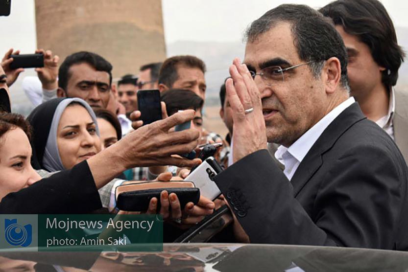 وزیر بهداشت تا ساعاتی دیگر وارد خرمآباد خواهد شد + جزئیات