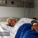 شاعر لرستانی «عزیز نادری» در بیمارستان بستری شد