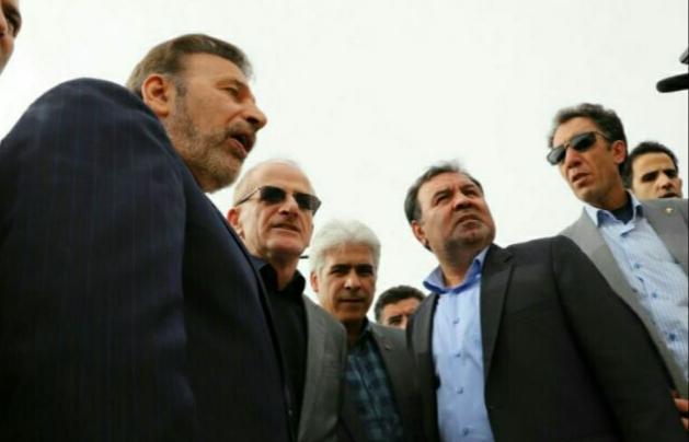 رئیس دفتر رئیس جمهور از پل تخریب شده روستای ناصروند دیدن کرد