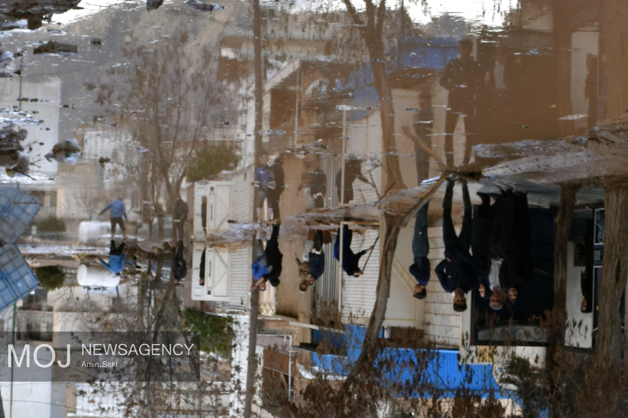 تصاویر دیده نشده از وقوع سیل در خرمآباد