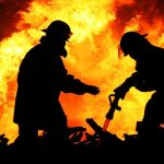 آتش سوزی در نیروگاه رامین اهواز