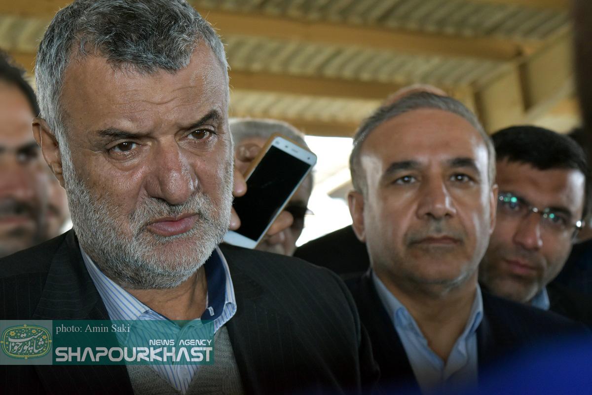 سفر وزیر جهاد کشاورزی به لرستان