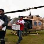 کمک ۱۵۰ میلیارد تومانی جمعیت هلال احمر به سیل زدگان
