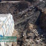 جاده پران پرویز به پلدختر مسدود شد