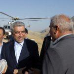 وزیر نیرو کلنگ احداث سد مخملکوه خرم آباد را به زمین زد