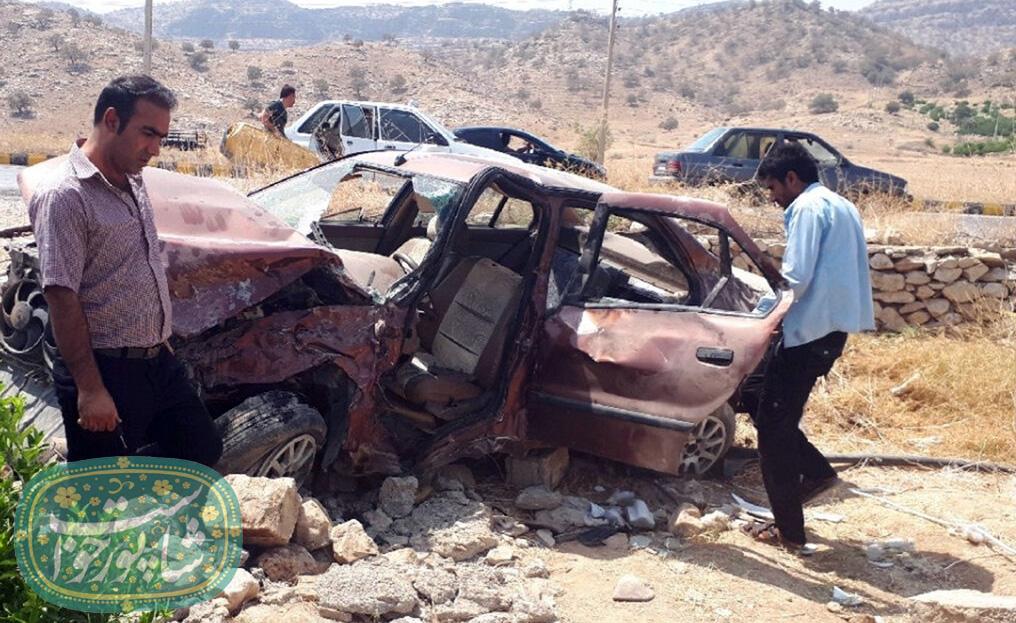 تصادف مرگبار در لرستان/ ۶ نفر کشته و مجروح شدند