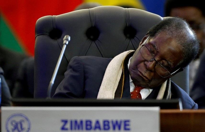 رابرت موگابه رئیس جمهور مخلوع زیمبابوه درگذشت