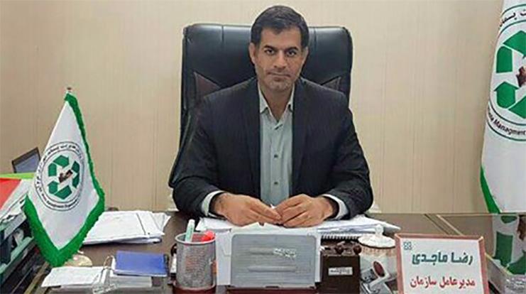 رضا ماجدی مدیرعامل سازمان فرهنگی، هنری شهرداری خرم آباد شد