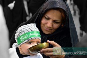 عکس منتخب شاپورخواست از همایش شیرخوارگان حسینی خرم آباد