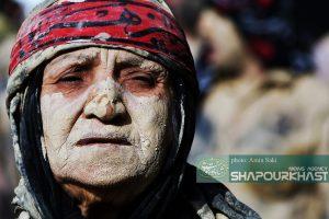 عکس هایی از آئین گِل و عزاداری مردم لرستان در عاشورا