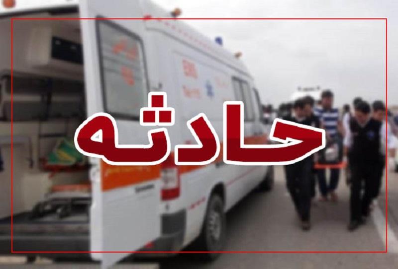 آمبولانس اورژانس در محور خرم آباد به پلدختر دچار سانحه شد