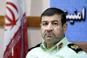 فرمانده انتظامی خوزستان آخرین وضعیت اعتراضات اهواز را تشریح کرد
