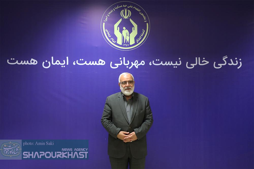 مرتضی بختیاری رئیس کمیته امداد امام خمینی (ره) وارد لرستان شد