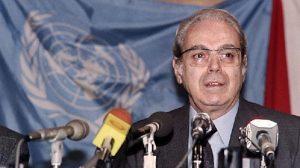 خاویر پرز دکوئیار در ۱۰۰ سالگی درگذشت