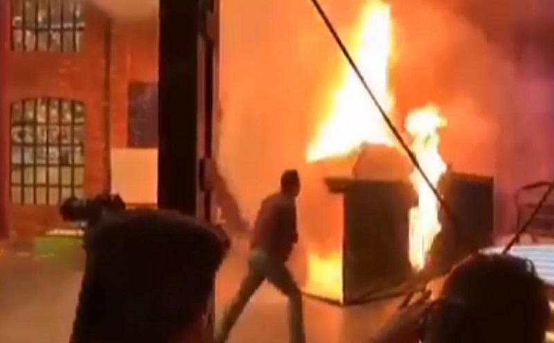 جزئیات آتش سوزی در استودیوی شبکه ۳ سیما
