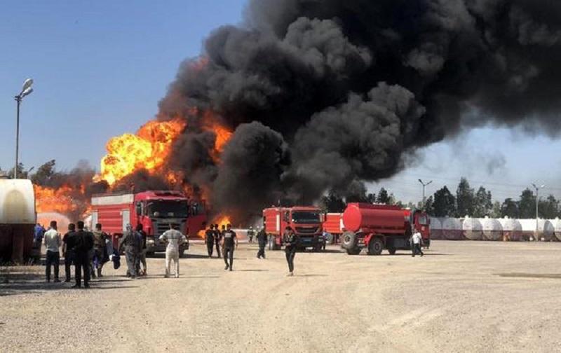 یک کارگر در آتشسوزی پالایشگاه تهران جان خود را از دست داد