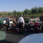 روز خونین جاده خرمآباد به الشتر/ ۱۱ کشته و زخمی در تصادف جاده کاکارضا