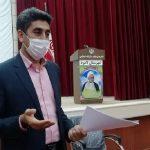 ابراهیم میر، حین جلسه با خبرنگاران درگذشت